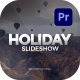 Holiday Slideshow for Premiere Pro - VideoHive Item for Sale