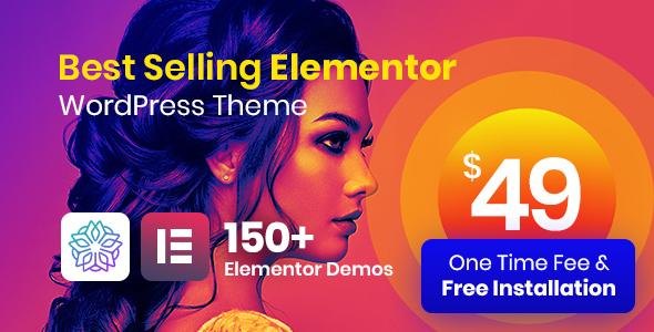 Nice Phlox Pro - Elementor MultiPurpose WordPress Theme