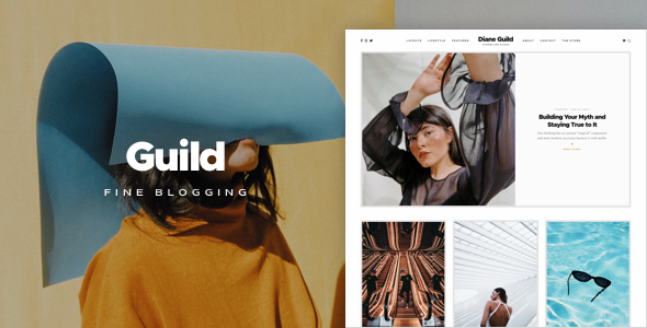 Download Guild — A Fine WordPress Blogging Theme Free Nulled