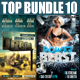 Top Party Flyer Bundle Vol10 - GraphicRiver Item for Sale