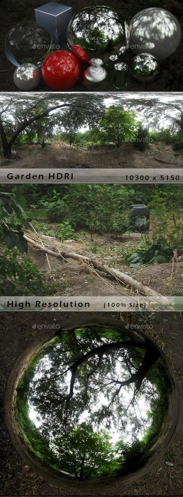 Garden HDRI