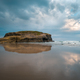 Cloudy sky and low tide at As Catedrais beach - PhotoDune Item for Sale