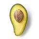 half of fresh raw avocado - PhotoDune Item for Sale
