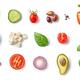 various vegetable salad ingredients - PhotoDune Item for Sale