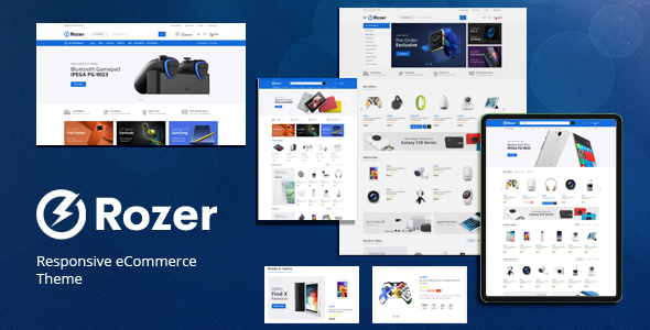 Rozer - Digital Responsive OpenCart Theme (Included Color Swatches)