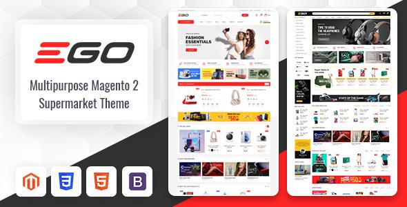 Ego - Marketplace Multipurpose Magento 2 Theme