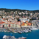 Panoramic view above Port of Nice on French Riviera - PhotoDune Item for Sale