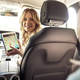 Mother with digital tablet with map in the car - PhotoDune Item for Sale