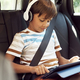 Boy sitting with a digital tablet in the car - PhotoDune Item for Sale