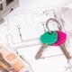 Currencies euro, home keys, electrical diagrams for engineer jobs - PhotoDune Item for Sale