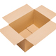 Open cardboard box on white background isolate - PhotoDune Item for Sale