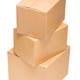 Cardboard boxes on white background isolate - PhotoDune Item for Sale
