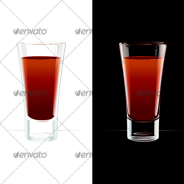 Bloody Mary Cocktail Or Tomato Juice - Food Objects