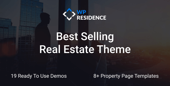 Incredible Residence Real Estate WordPress Theme