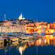 Marseille Old Port in the night. Marseille, France - PhotoDune Item for Sale