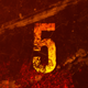Grunge Countdown Intro Mogrt - VideoHive Item for Sale