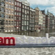 Timelapse of city and I amsterdam slogan - PhotoDune Item for Sale