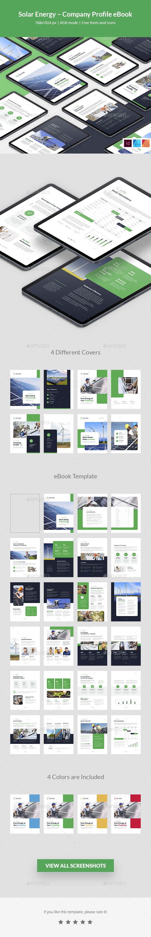 Solar Energy – Company Profile eBook