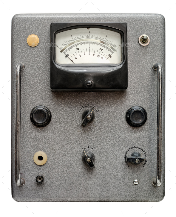 Very old control panel - Stock Photo - Images