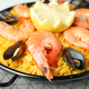 Concept of delicious food with Spanish Paella - PhotoDune Item for Sale