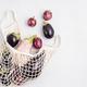 Organic eggplant crop. Buy local concept. Sustainable, plastic free, zero waste lifestyle - PhotoDune Item for Sale