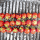 Skewer of red and juicy Pachino tomatoes cooked on a griddle - PhotoDune Item for Sale