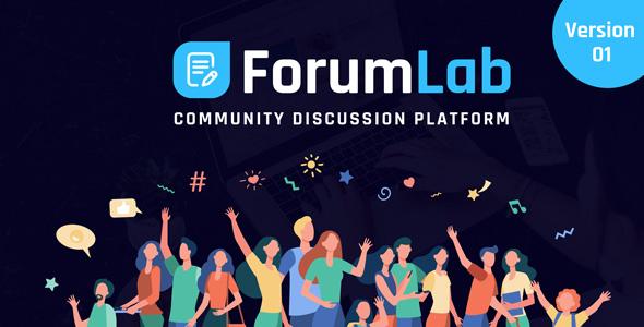 ForumLab - Community Discussion Platform