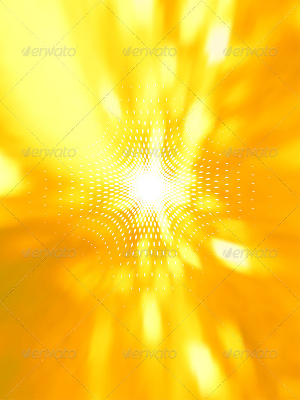 Abstract sunshine - Abstract Conceptual