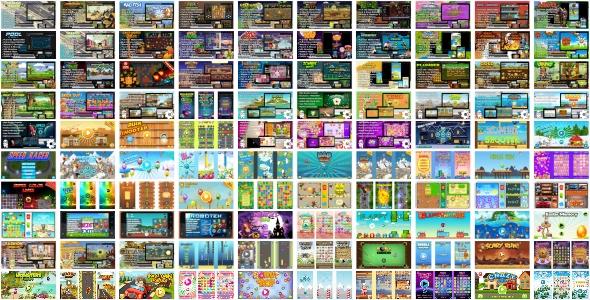 100 HTML5 GAMES SUPER BUNDLE (Construct 3 | Construct 2 | Capx)