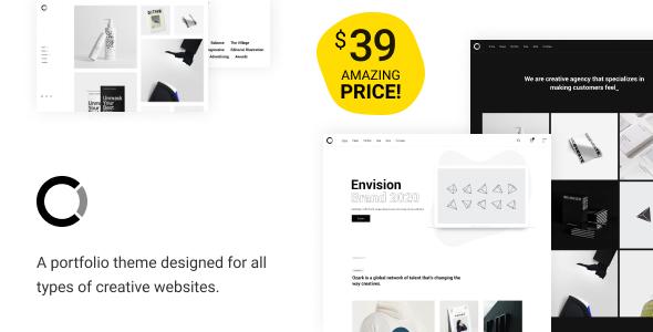 Ozark - Minimal Portfolio WordPress Theme