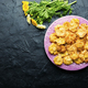 Chrysanthemum flowers roasted in batter - PhotoDune Item for Sale