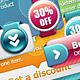 Bright Web Elements - GraphicRiver Item for Sale
