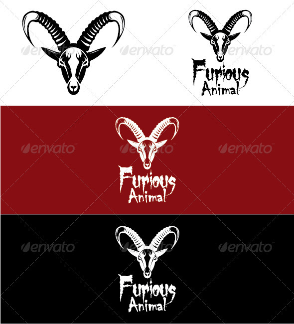 Gazelle Logo - Animals Logo Templates