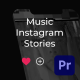 Podcast Music Instagram Stories for Premiere Pro - VideoHive Item for Sale