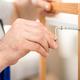 Closeup Of Unrecognizable Carpenter's Hands Tightening Screws Assembling Shelf Indoors - PhotoDune Item for Sale