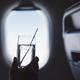 Passenger enjoy drink during flight - PhotoDune Item for Sale