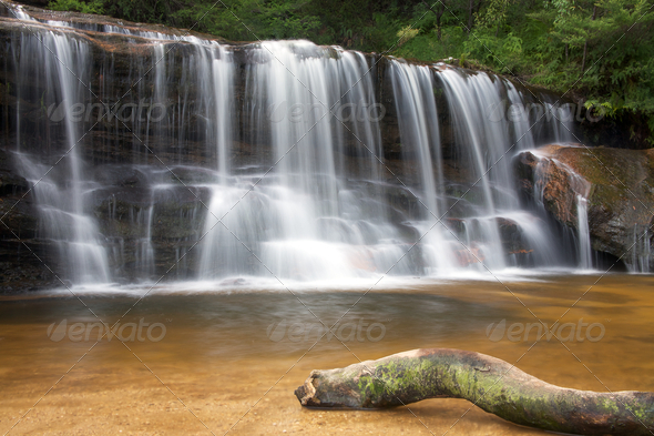 Wentworth falls - Stock Photo - Images