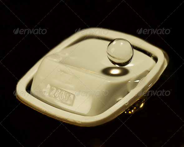 Water and switch - Stock Photo - Images