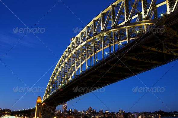 Sydney Harbour Bridge - Stock Photo - Images
