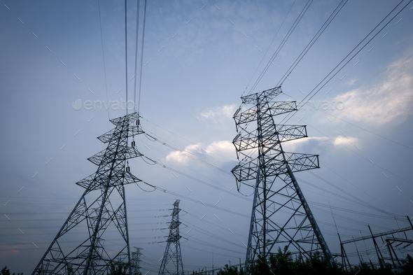 pylon - Stock Photo - Images