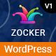 Zocker - eSports Game & Online Clan News Video Gaming WordPress Theme