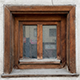 Dirty Wood Window Texture