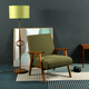 Vintage furniture against gray wall - PhotoDune Item for Sale