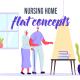 Nursing home - Flat Concept - VideoHive Item for Sale