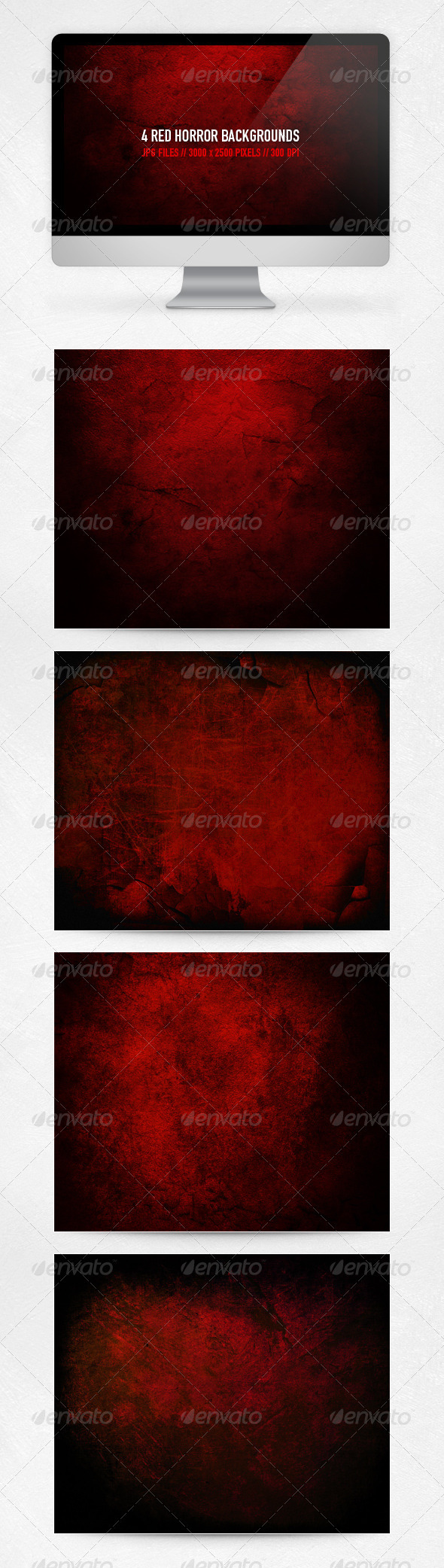 Red Horror Backgrounds - Backgrounds Graphics