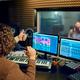 Musician and female performer, recording studio - PhotoDune Item for Sale