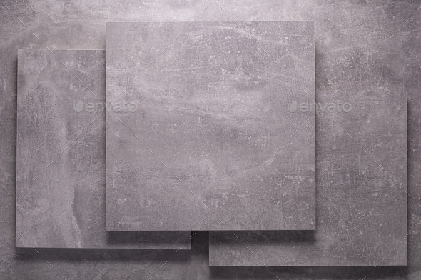Abstract grey background texture at table or wall. Picture frame at gray wall background - Stock Photo - Images