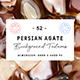 52 Persian Agate Background Textures