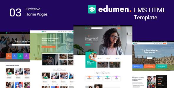 Nice Edumen – Education HTML Template
