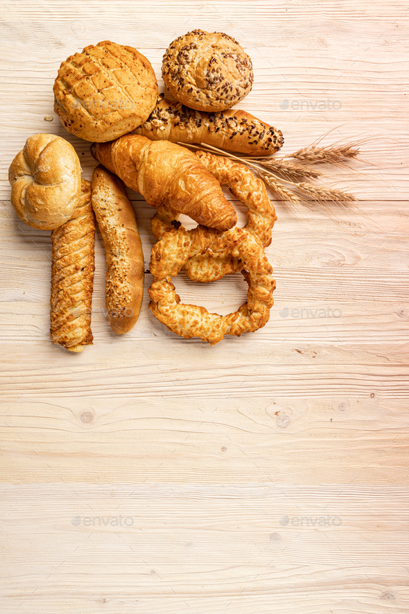 Different bakery products - Stock Photo - Images